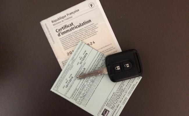 vente de voiture d'occasion et formalités